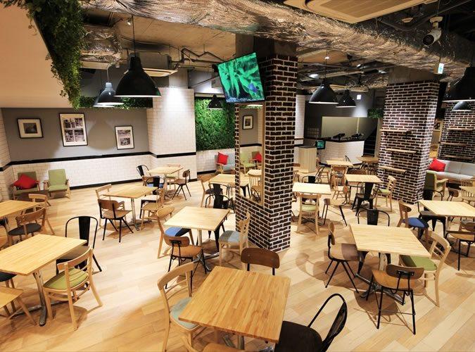 渋谷 Leaf Garden Cafe