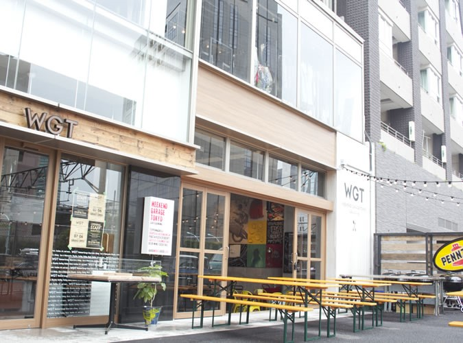 Weekend Garage Tokyo 外観