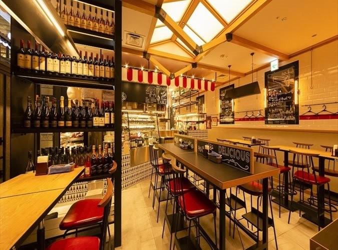 La Boucherie et Vin ~肉屋のワイン食堂~浜松町 内観